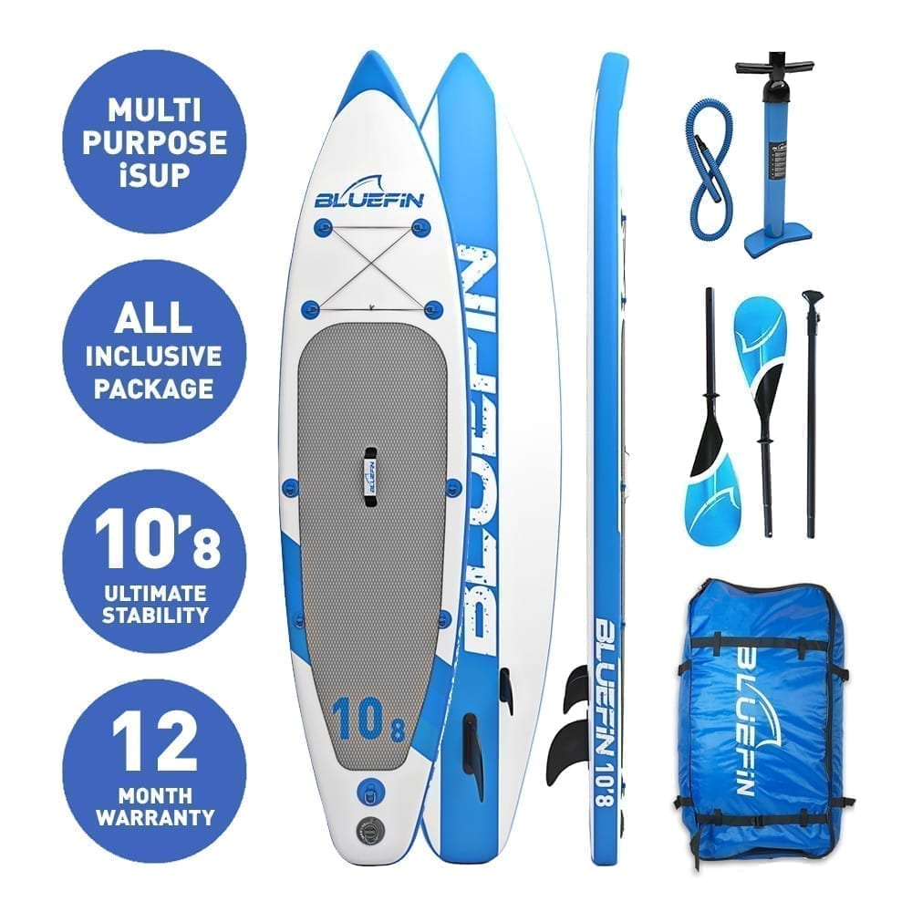 bluefin sup 10 39 8 cruise stand up paddle board with kayak conversion kit bluefin sup. Black Bedroom Furniture Sets. Home Design Ideas