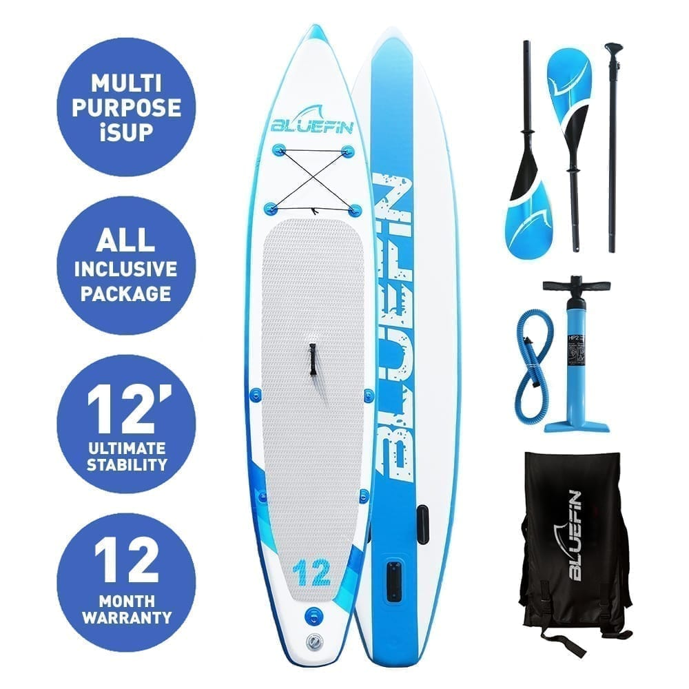 Bluefin inflatable stand up paddle board accessories