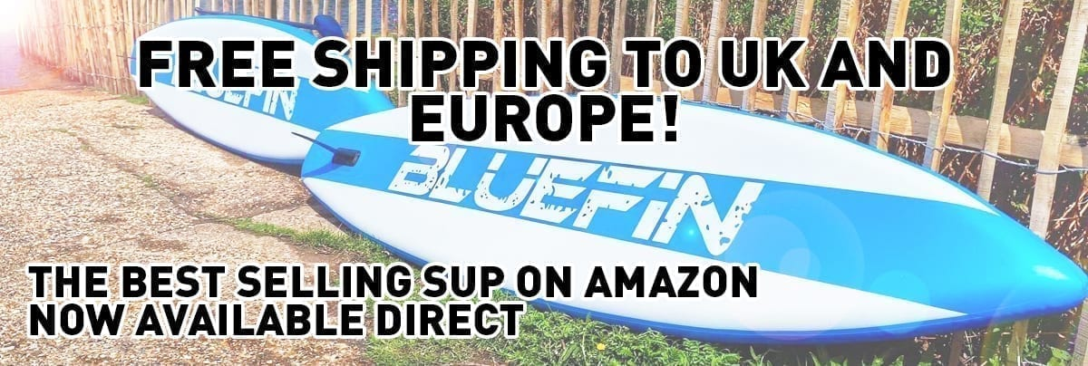 Bluefin inflatable stand up paddle board
