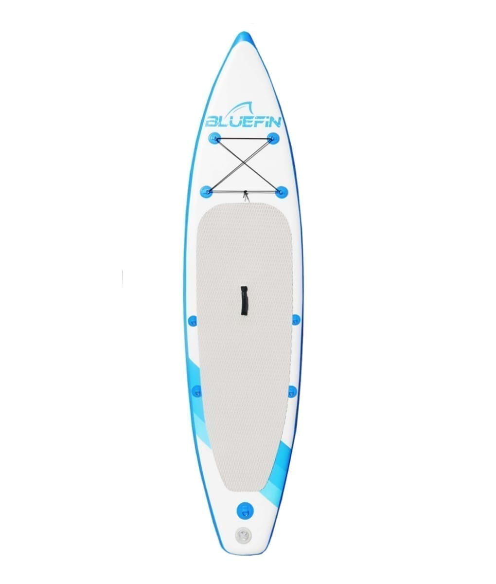 Bluefin inflatable stand up paddle board front