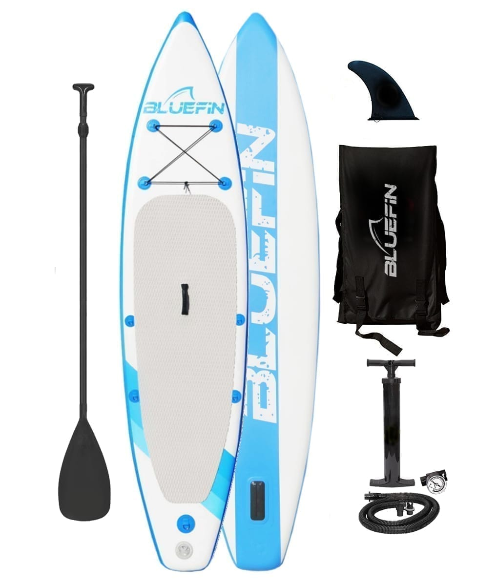 Bluefin inflatable stand up paddle board kit