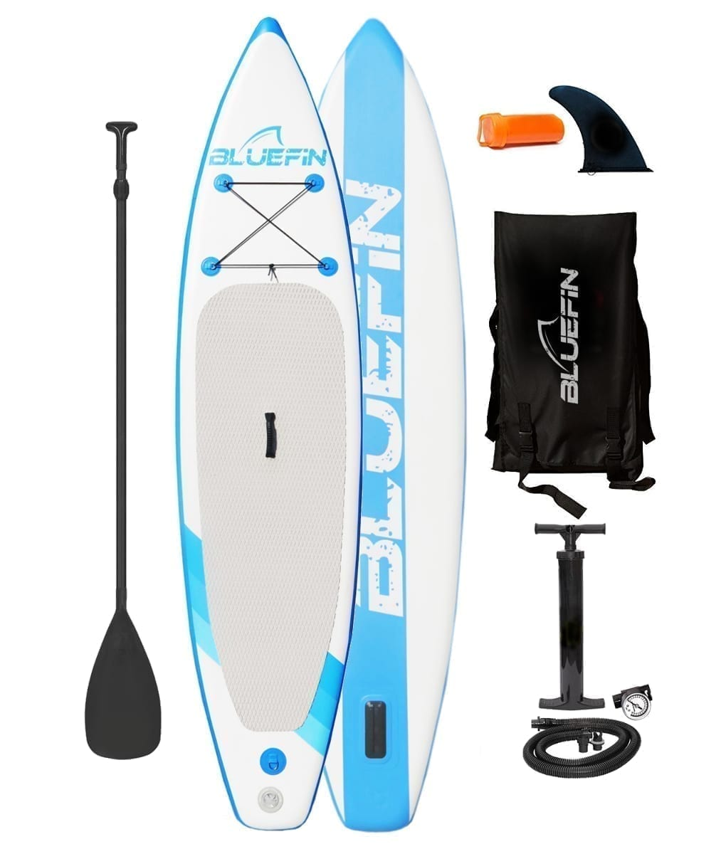Bluefin inflatable stand up paddle board equipment