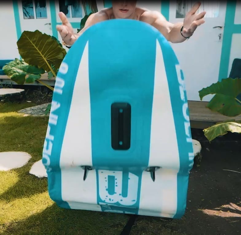 bluefin inflating paddle board