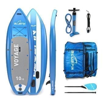 "SUP, Bluefin Cruise SUP Package | Stand Up Inflatable Paddle Board | 6"" Thick 