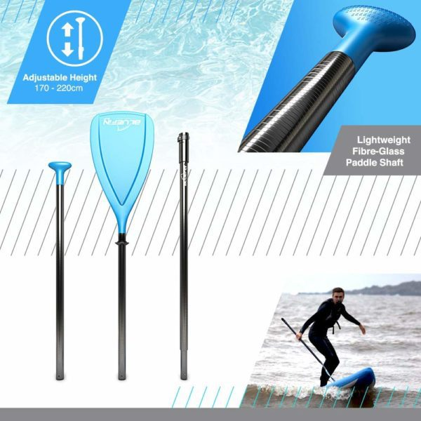 , Bluefin SUP BLUEFIN Tavola da SUP Stand Up Paddle Gonfiabile | Modello Sprint 14' | Modello per Race o Touring