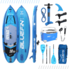SUP 14′ Sprint Kit, Bluefin SUP 14′ Sprint Stand Up Paddle Board Kit – Ultimate Race Paddle Board