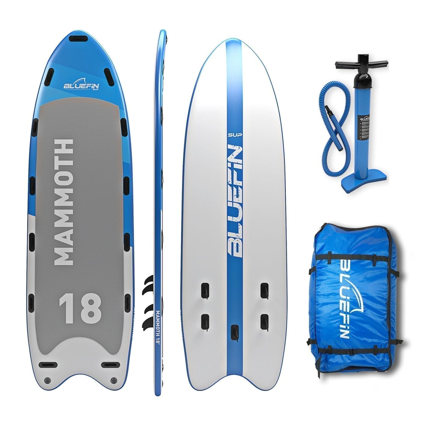 Bluefin Sup 18 Mammoth Stand Up Paddle Board Kit 10