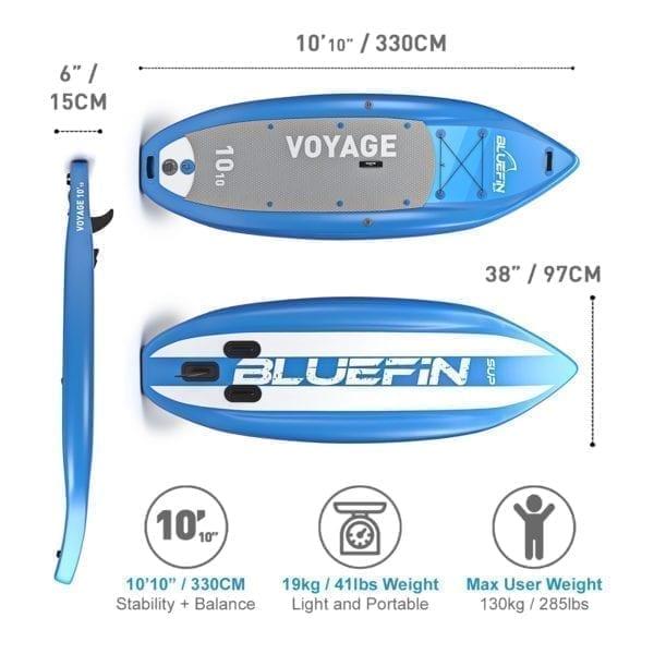 Bluefin voyage sup