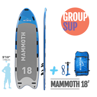 Bluefin Mammoth Extra Large Group Yoga SUP
