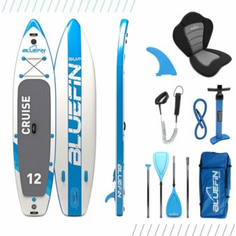 bluefin sup inflatable paddle board