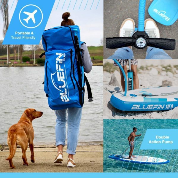 SUP, Ex-demo Bluefin SUP Package | Stand Up Inflatable Paddle Board | Quality Checked, Cleaned & Safety Approved