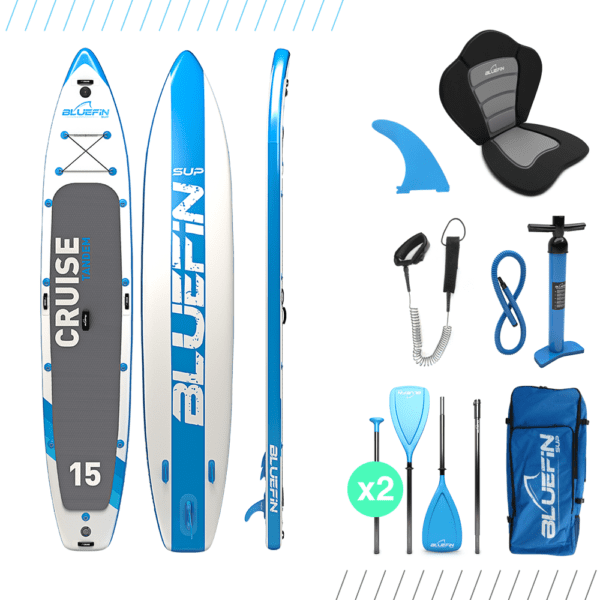"SUP 6"" Thick, SUP Cruise de Bluefin 