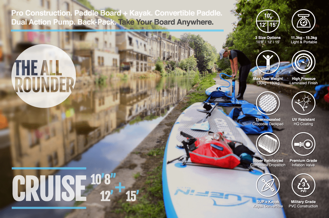 Bluefin Cruise SUP Product Features