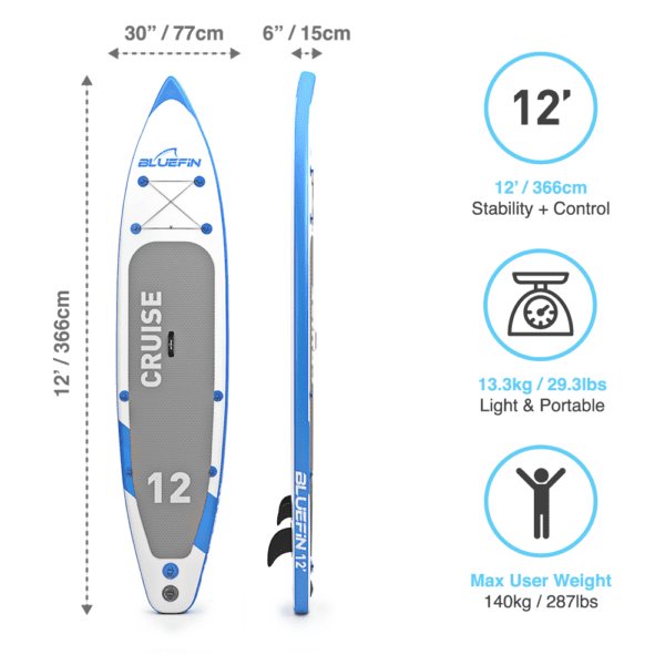 bluefin detail cruise sup 12'