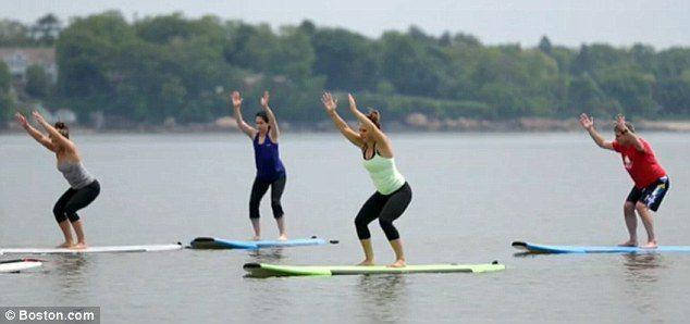 Bluefin Sup yoga courtesy of boston.com and the telegraph UK