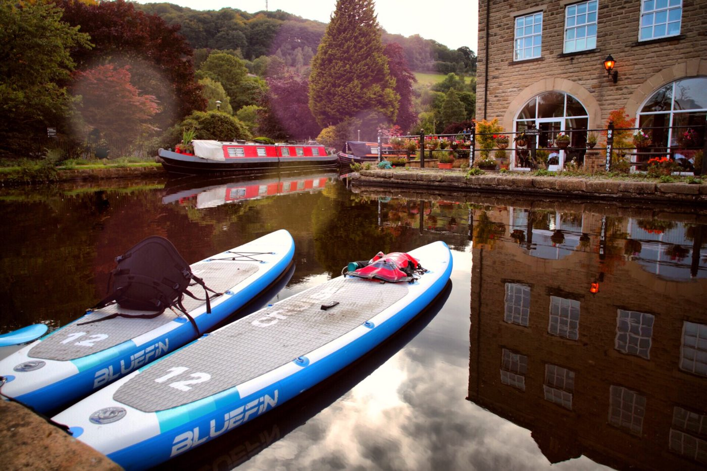 Bluefin cruise sup touring boards in hebden bridge