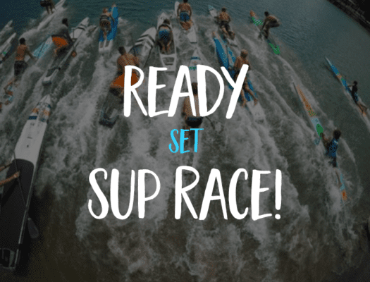 Sup racing. Pacific Coast Paddle Games for the Men's Pro Elite race. Photo by Glenn Dubock.