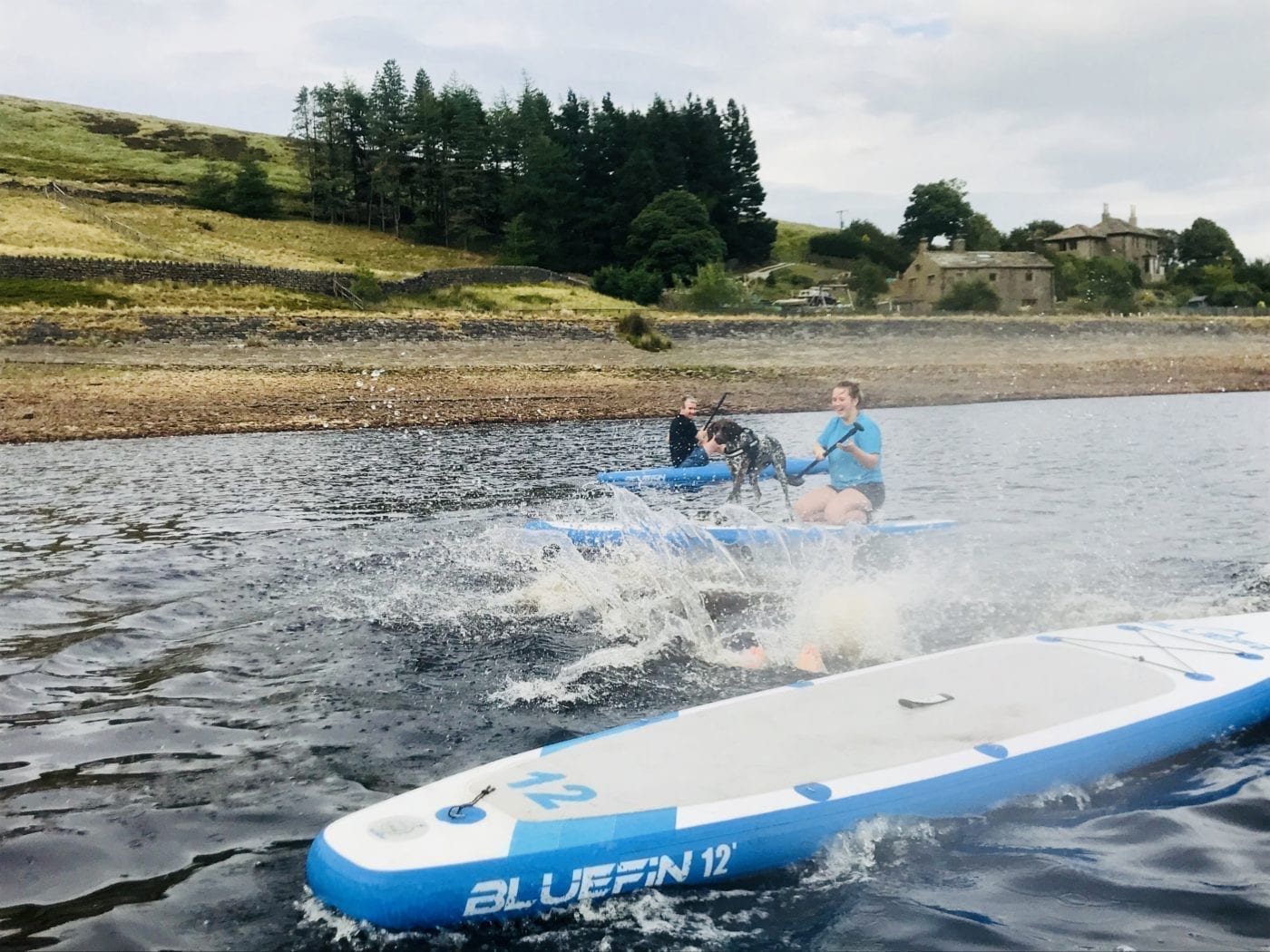 Bluefin Tom goes Splash on Cruise SUP