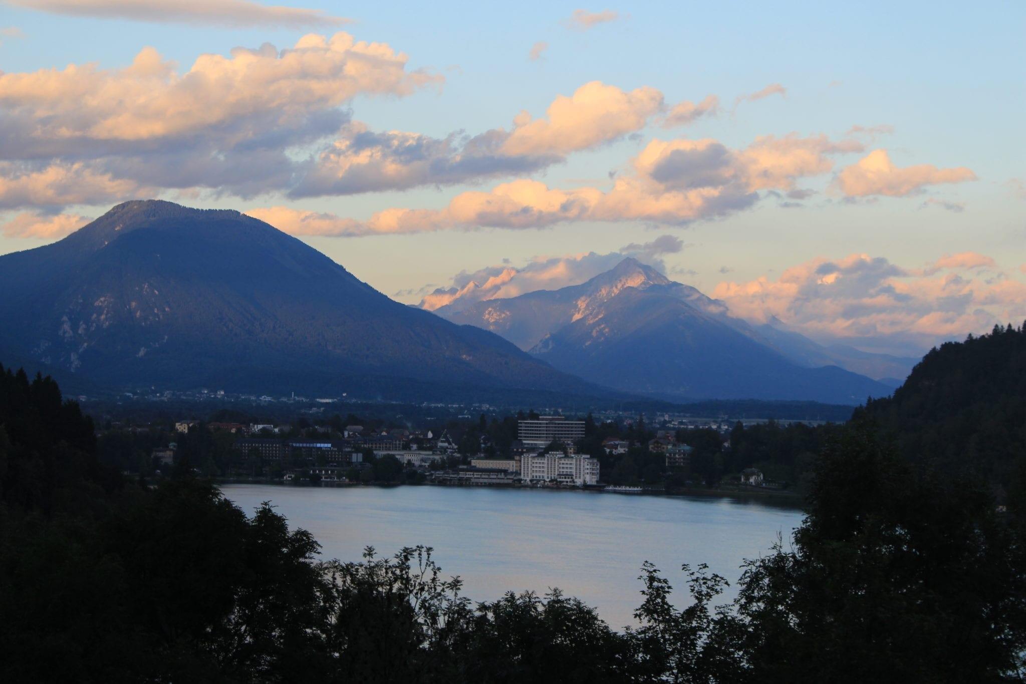 Lake Bled waking up