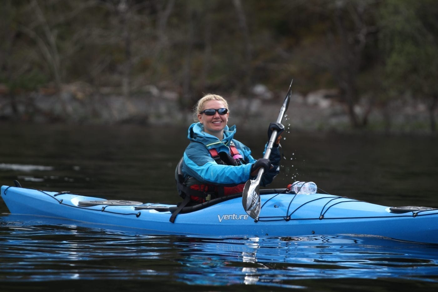 Bluefin kayak Scotland 08