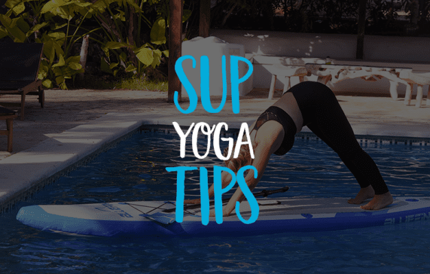 sup yoga tips with Nichole Dechow