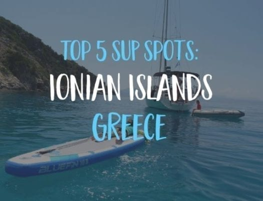 Top SUP spots ionian islands