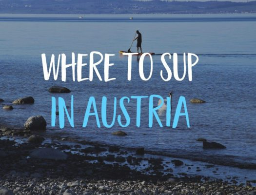 SUP Bodensee paddleboarding in austria