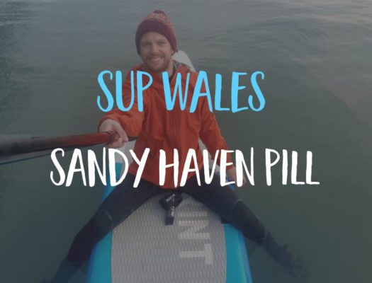 bluefin SUP Wales Sandy Haven Pill