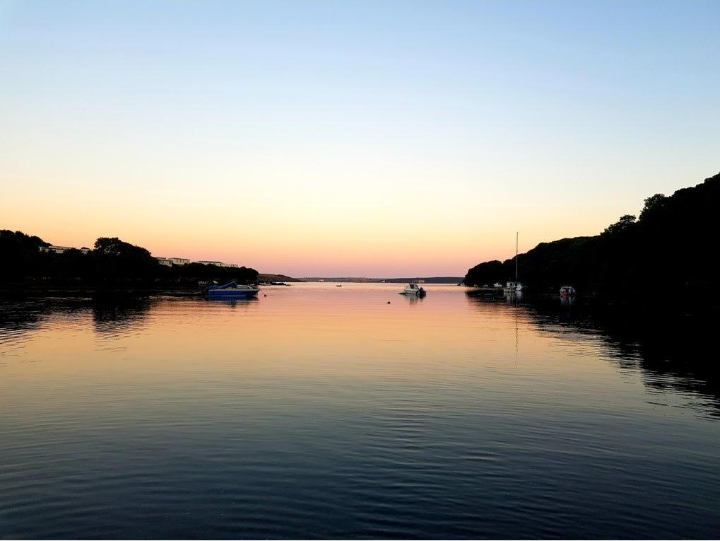 sandy Haven Pill sunset