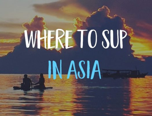 sup thailand blog cover koh tao sunset with paddleboards