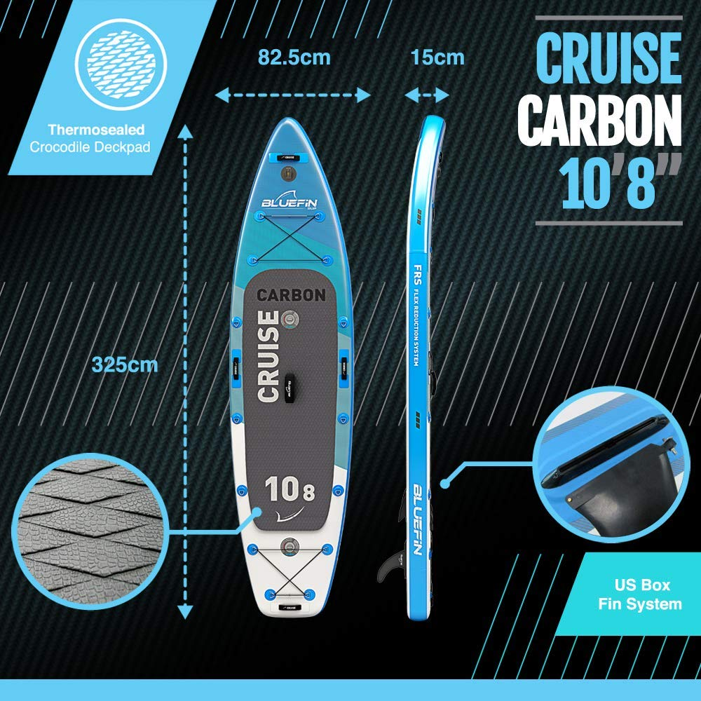 Bluefin Cruise Carbon Sup Package Stand Up Inflatable