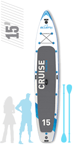 "SUP 10′10"" Voyage, Bluefin Tabla de Stand Up Paddle Surf SUP Hinchable 