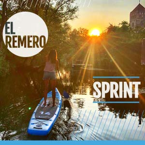 SUP 14′ Sprint Kit, Bluefin Tabla de Stand Up Paddle Surf Sup Hinchable | Modelo Sprint De 14′ | Modelo Touring/Carrera