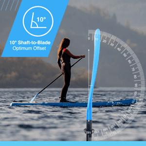 SUP Fibreglass or Carbon Fibre Paddle