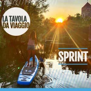 Tavola da SUP Sprint 14', Bluefin SUP BLUEFIN Tavola da SUP Stand Up Paddle Gonfiabile | Modello Sprint 14' | Modello per Race o Touring