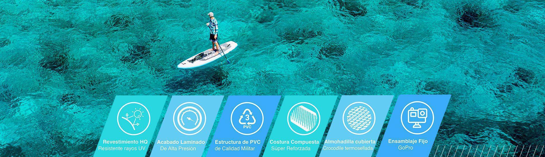 paddleboard, Página principal