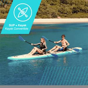 Bluefin SUP + kayak