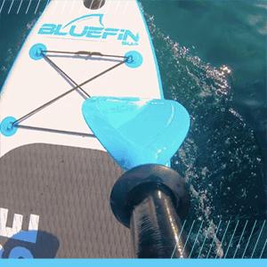 Bluefin SUP paddle board