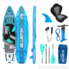 "Bluefin Cruise Junior 8' SUP Package, Bluefin Cruise Junior 8′ SUP Package | Kids Stand Up Inflatable Paddle Board | 6"" Thick 
