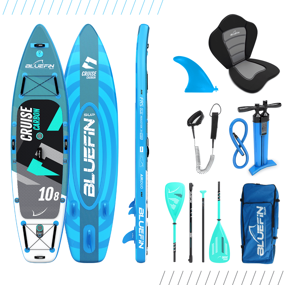 """Bluefin Cruise Carbon SUP Package 
