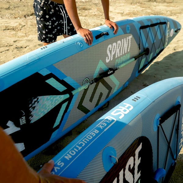 , Bluefin SUP 14′ Sprint Carbon planche de stand up paddle gonflable