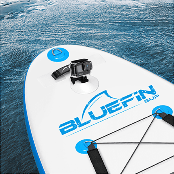 """Kids Stand Up Inflatable Paddle Board, Bluefin Cruise Junior 8′ SUP Package 
