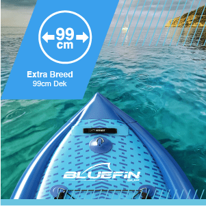 , Bluefin SUP 10′10 ″ Voyage Stand Up Paddle Board Kit – Het Paddle Board voor Ultieme Stabiliteit
